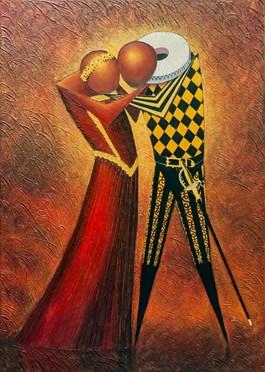 Obraz do salonu artysty Łukasz Czernicki pod tytułem Romeo i Julia