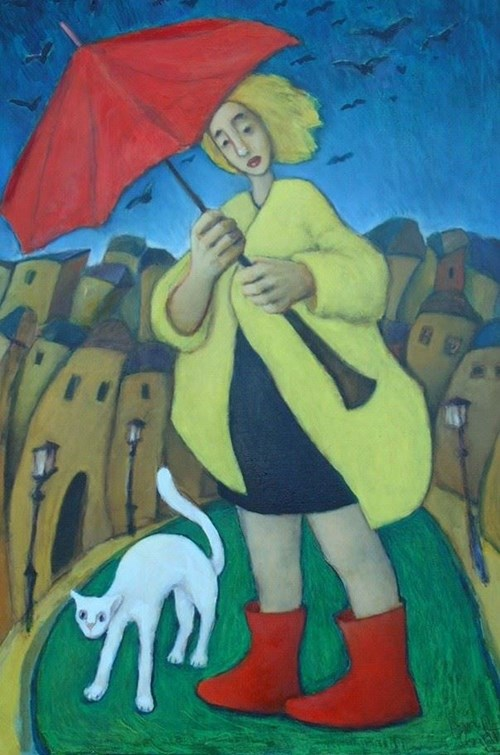 Obraz do salonu artysty Miro Biały pod tytułem Nie ma się czego bać, Adolfie