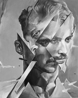 Obraz do salonu artysty Łukasz Biliński pod tytułem Delusion