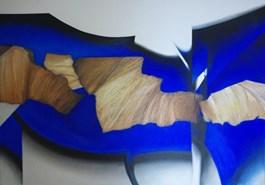 Obraz do salonu artysty Alina Dorada-Krawczyk pod tytułem Garnitur słów