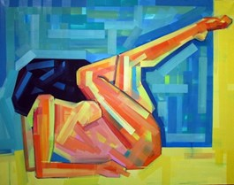 Obraz do salonu artysty Piotr Kachny pod tytułem H.Y Bride small
