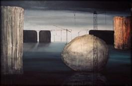 Obraz do salonu artysty Sabina Maria Grzyb pod tytułem Konstrukcje stabilne 2