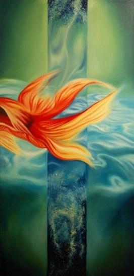 Obraz do salonu artysty Agnieszka Brzozowska pod tytułem Woda