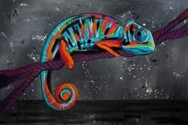 Obraz do salonu artysty Monika Mrowiec pod tytułem Przenikanie