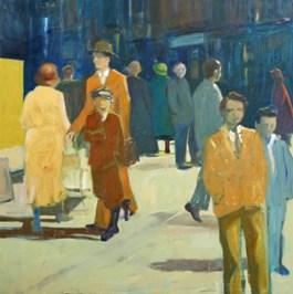 Obraz do salonu artysty Agata Ruman pod tytułem Ulica
