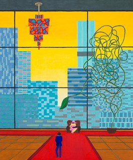 Obraz do salonu artysty Marek Konatkowski pod tytułem City 2