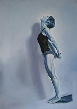 Obraz do salonu artysty Judyta Krawczyk pod tytułem Gimnastyczka