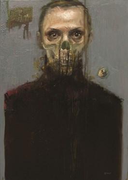 Obraz do salonu artysty Barbara Porczyńska pod tytułem Woal bezcelowej świadomości