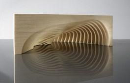 Rzeźba do salonu artysty Ryszard Litwiniuk pod tytułem Solaris