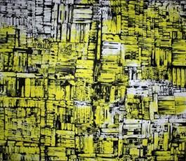 Obraz do salonu artysty Magdalena Karwowska pod tytułem Miasto 80