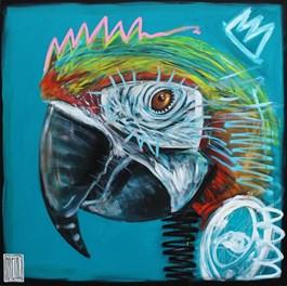 Obraz do salonu artysty Wojciech Brewka pod tytułem Barwy ochronne