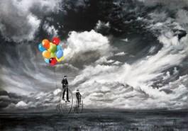 Obraz do salonu artysty Martyna Mączka pod tytułem Kolorowo