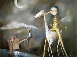 Obraz do salonu artysty Małgorzata Piątek-Grabczyńska pod tytułem Pył