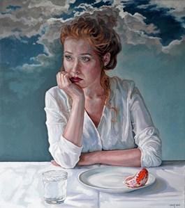 Obraz do salonu artysty Marcin Jaszczak pod tytułem Melancholia