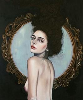 Obraz do salonu artysty Viola Bąbol pod tytułem Pokusa