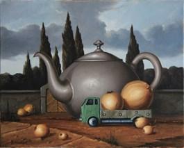 Obraz do salonu artysty Borys Michalik pod tytułem Bez tytułu
