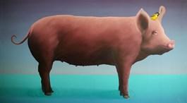 Obraz do salonu artysty Rafał Czępiński pod tytułem Sea bacon