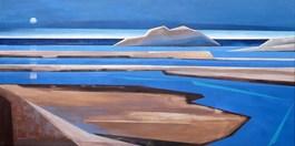 Obraz do salonu artysty Marta Bilecka pod tytułem Waterland - Genesis 04