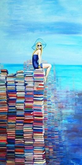 Obraz do salonu artysty Katarzyna Orońska pod tytułem Gaudium Mare