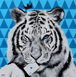 Obraz do salonu artysty Zuzanna Jankowska pod tytułem Król as kier