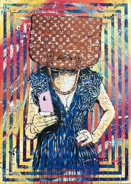 Obraz do salonu artysty Michał Mąka pod tytułem Selfie