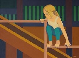 Obraz do salonu artysty Joanna Sułek-Malinowska pod tytułem Małpi gaj