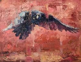 Obraz do salonu artysty Alex Sporski pod tytułem Kruk