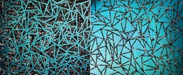 Obraz do salonu artysty Magdalena Karwowska pod tytułem Miasto 066 (dyptyk)