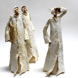 Rzeźba do salonu artysty Arek Szwed pod tytułem Jesień 69