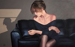 Obraz do salonu artysty Jolanta Lach pod tytułem Ćma