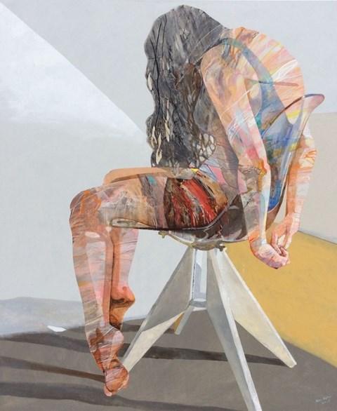 Obraz do salonu artysty Adam Wątor pod tytułem Aktorka