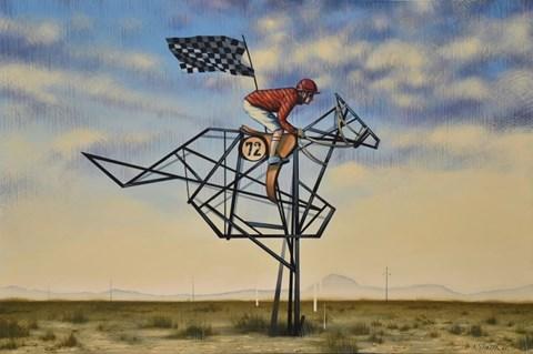 Obraz do salonu artysty Kamil Stańczak pod tytułem Nevada Derby Champion