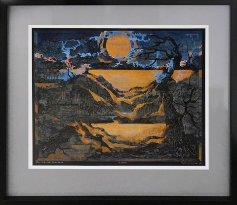 Obraz do salonu artysty Krzysztof Wieczorek pod tytułem Nocturn