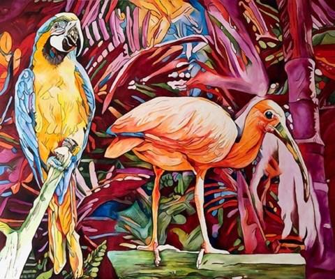 Obraz do salonu artysty Joanna Szumska pod tytułem Wyspa skarbów