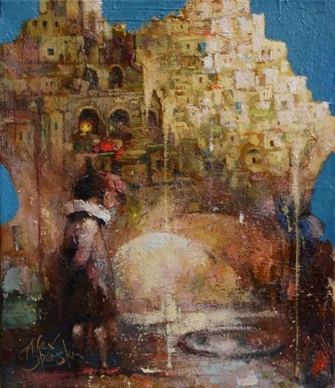 Obraz do salonu artysty Alex Sporski pod tytułem Wędrówka