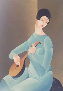 Obraz do salonu artysty Urszula Tekieli pod tytułem Musica