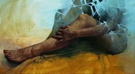 Obraz do salonu artysty Krzysztof Powałka pod tytułem Bez tytułu