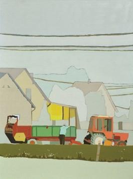 Obraz do salonu artysty Magdalena  Jędrzejczyk pod tytułem Traktor