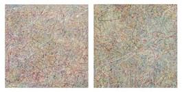 Obraz do salonu artysty Amelia Augustyn pod tytułem Cisza - dyptyk