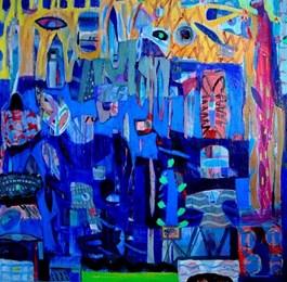Obraz do salonu artysty Anna Jarzymowska pod tytułem Wakacje 02