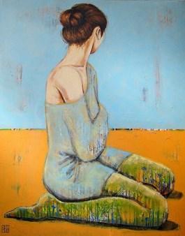 Obraz do salonu artysty Renata Magda pod tytułem Silence