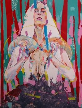Obraz do salonu artysty Natalia Biegalska pod tytułem Witching Hour