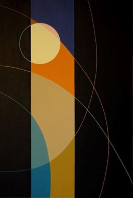 Obraz do salonu artysty Joanna Sułek-Malinowska pod tytułem Chromosfera III