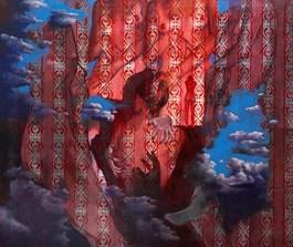 Obraz do salonu artysty Angelika Korzeniowska pod tytułem Zmysły