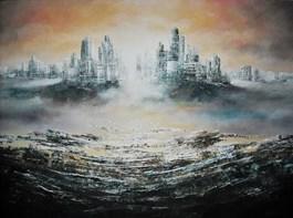 Obraz do salonu artysty Andrzej Fronczak pod tytułem Ave lux et caligo