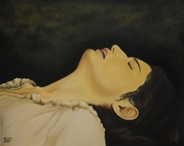 Obraz do salonu artysty Lena Sterk pod tytułem Ponownie narodzona