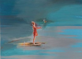 Obraz do salonu artysty Marta Szarek-Michalak pod tytułem Pożegnanie