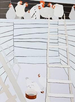 Obraz do salonu artysty Magdalena  Jędrzejczyk pod tytułem Eternit - białe zabawki 5