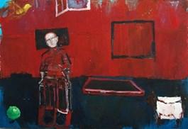 Obraz do salonu artysty Olek Myjak pod tytułem Kompozycja I