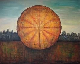Obraz do salonu artysty Sabina Maria Grzyb pod tytułem Surya